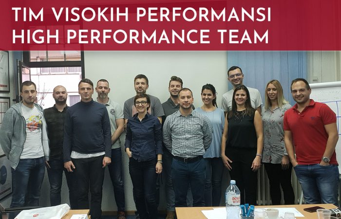Tim visokih performansi – High Performance Team